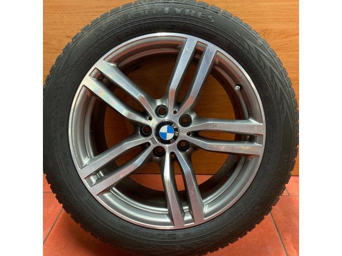 Zimní sada BMW X6 F16  STYLING 623M 9x19 5/120 ET48 a ET18 včetně zimních pneumatik 255/50 R19 107V NOKIAN WR4 SUV dojezdové a čidel tlaku RDC