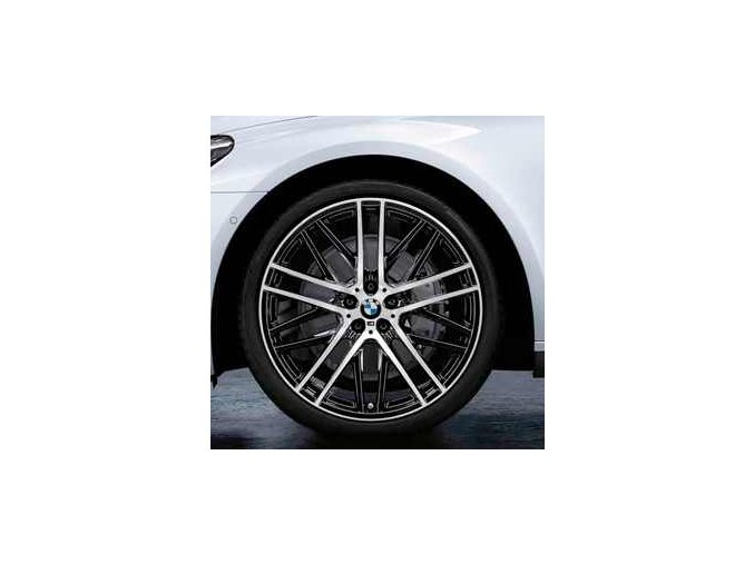 Originální alu kola BMW 7 G11 STYLING 650 letní sada 8,5x21 a 10x21 5/120