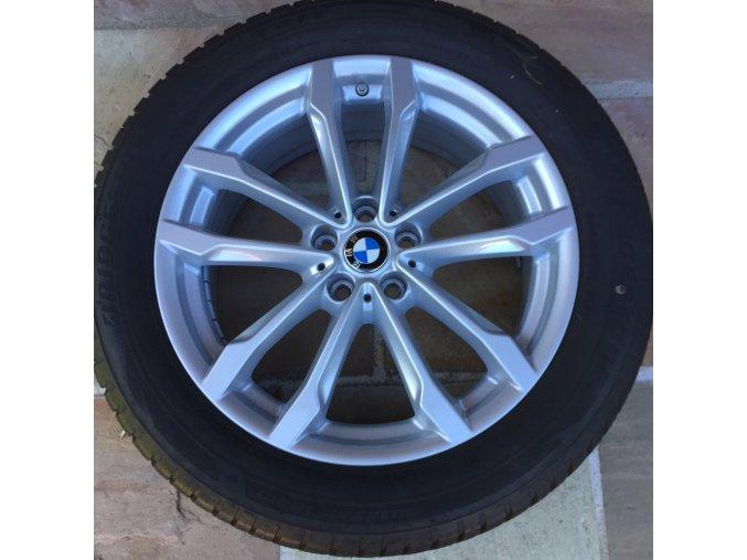 Zimní sada BMW X3 G01 a X4 G02 STYLING 691 7,5x19 5/112 ET32 včetně zimních pneumatik 245/50 R19 105V XL Bridgestone Blizzak LM-001* RSC a čidel tlaku RDC