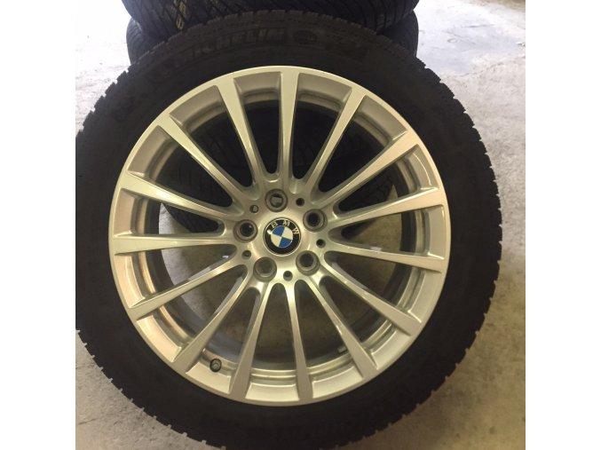 Zimní sada BMW 5 G30 STYLING 619 8x18 5/112 ET30 včetně zimních pneumatik 245/45 R18 100V XL Michelin Pilot Alpin PA4 ZP* MOE RSC a čidel tlaku RDC