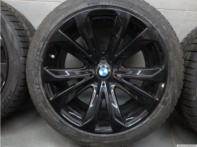 Zimní sada BMW X5 F15 STYLING 491 10x20 ET40 a 11x20 ET37 včetně zimních pneumatik 275/40 R20 a 315/35 R20 Pirelli RSC a čidel tlaku