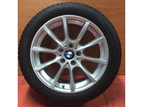 Zimní sada BMW F10, F12 STYLING 281 8x18 5/120 ET30 se zimní pneu 245/45 R18 DUNLOP Winter Sport 3D DSST, profil 5-6 mm  a čidel tlaku RDC.