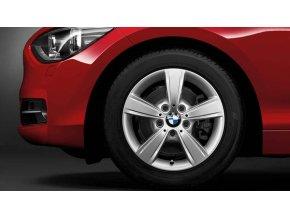 Zimní sada alu kola BMW F20 STYLING 376 7x16 5/120 ET40 s pneumatikou 205/55 R16 91H