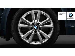 Zimní sada alu kola BMW STYLING 446 X5 F15 8,5x18 5/120 ET46 včetně zimní pneumatiky 255/55 R18 109H PIRELLI SCORPION WINTER XL RSC*