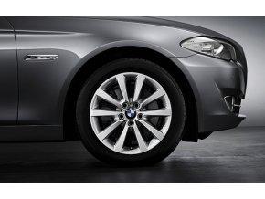 Zimní sada alu kola BMW F10 STYLING 328 8x18 5/120 ET30 včetně zimních pneumatik 245/45 R18 PIRELLI RSC