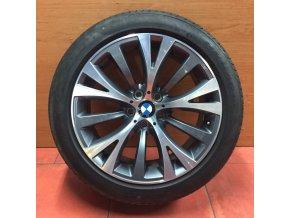 Letní sada alu kola BMW 7 F01, GT F07 STYLING 315 8,5x19 5/120 ET25 a 9,5x19 5/120 ET39 včetně pneumatik Pirelli P Zero RSC 245/45 R19 a 275/40 R19 profil 7mm