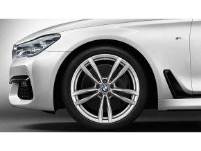 Zimní sada alu kola BMW 7 G11, BMW 6 GT G32 STYLING M647 8,5x19 5/112 ET25 včetně zimních pneumatik 245/45 R19 102V Bridgestone Blizzak LM-001* RSC a čidel tlaku RDC
