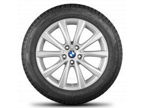 Zimní sada alu kola BMW 5 G30 STYLING 642 8x18 5/112 ET30 včetně zimních pneumatik 245/45 R18 a čidel tlaku RDC