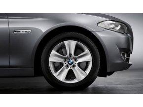 Zimní sada alu kola BMW F10 STYLING 327 8x17 5/120 ET30 včetně zimních pneumatik 225/55 R17 97H DUNLOP Winter Sport 3 D RSC