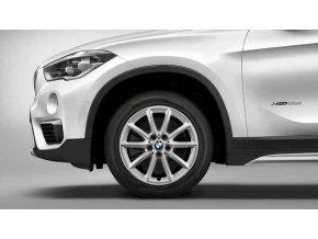 Zimní sada alu kola BMW X1 F48, X2 F39  STYLING 560 7,5x17 5/112 ET52 včetně zimních pneumatik 225/55 R17 97H Nokian WR D4* a čidel tlaku RDC