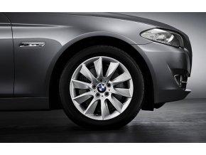 Zimní sada alu kola BMW F10, F11, F12 STYLING 329 8x18 5/120 ET30 včetně zimních pneumatik 245/45 R18 100V Pirelli W240 Sottozero S2* RSC