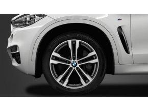 Zimní sada alu kola BMW X5 F15, X6 F16 STYLING 468M 10x20 5/120 ET40 a 11x20 5/120 ET37 včetně zimních pneumatik 275/40 R20 a 315/35 R20 PIRELLI RSC a čidel tlaku RDC