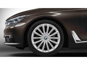 Zimní sada alu kola BMW 7 G11 STYLING 620 8,5x19 5/112 ET25 včetně pneumatik 245/45 R19 Pirelli RSC a čidel tlaku