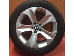 Zimní sada alu kola BMW X6 E71 STYLING 232 9x19 5/120 ET48 a ET18 s pneu 255/50 R19 GOODYEAR RSC
