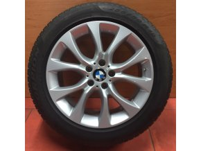 Zimní sada BMW X5 F15 STYLING 450 9x19 5/120 ET48 včetně pneumatik 255/50 R19 Pirelli a čidel tlaku RDC