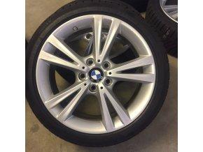 Zimní sada BMW F20, F22 STYLING 385 7,5x18 5/120 ET45 včetně pneumatik 225/40 R18 Continental Winter Contact TS830P* RSC a čidel tlaku RDC