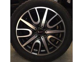 Zimní sada MINI F60 JCW Black Thrill STYLING 529 7,5x18 5/112 ET51 včetně zimních pneumatik 225/50 R18 95H Bridgestone Blizzak LM-001* RSC
