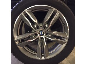 BMW X1 F48, X2 F39 zimní sada STYLING M570 7,5x18 5/112 ET51 včetně zimních pneumatik 225/50 R18 95H Bridgestone Blizzak LM-001* RSC a čidel tlaku RDC.