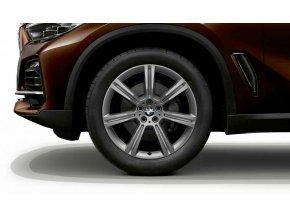 Zimní sada BMW X5 G05 a X6 G06 STYLING 736 9x20 5/112 ET35 včetně zimních pneumatik 275/45 R20 110V XL Pirelli Scorpion Winter RSC a čidel tlaku RDCi