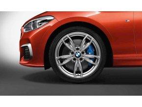 Letní sada BMW F20, F22 STYLING M436 7,5x18 ET45 a 8x18 ET52 včetně pneumatik 225/40 R18 88Y a 245/35 R18 88Y Pirelli P Zero RSC a čidle tlaku RDCi.