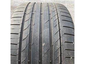Letní pneumatiky pro BMW X5 a X6 přední 275/40 R20 a zadní 315/35 R20 Continental SC5* SSR, profil 5mm