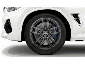 Zimní sada BMW X3M F97 a X4M F98 STYLING M764 9x20 ET28 a 9,5x20 ET39 včetně zimních pneumatik 255/45 R20 105V XL Pirelli Scorpion Winter* a čidel tlaku RDCi.