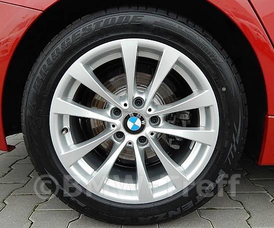 Originální alu kola BMW 3 GT F34 STYLING 395 8x17 ET34 5/120 s pneu 225/55 R17 letní sada