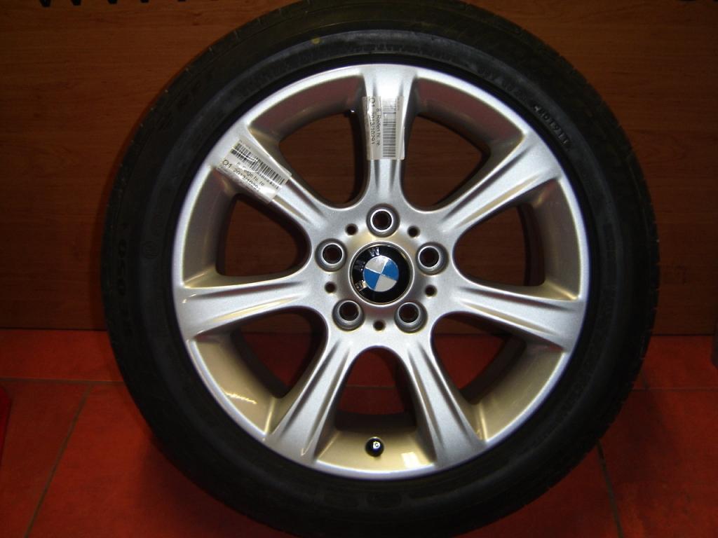 Originální alu kola BMW F30, F32 STYLING 394 7,5x17 ET37 s pneumatikou 225/50 R17 94W