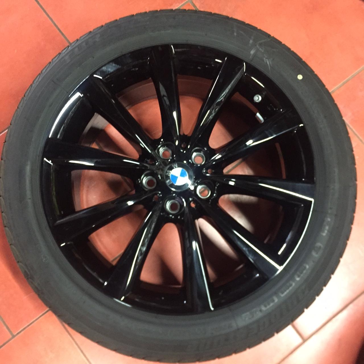 Originální alu kola BMW 5 G30 STYLING 642 8x18 ET30 s pneumatikou 245/45 R18 96Y