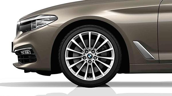Zimní sada alu kola BMW 7 G11 STYLING 619 8x18 ET30 5/112 s pneu 245/50 R18