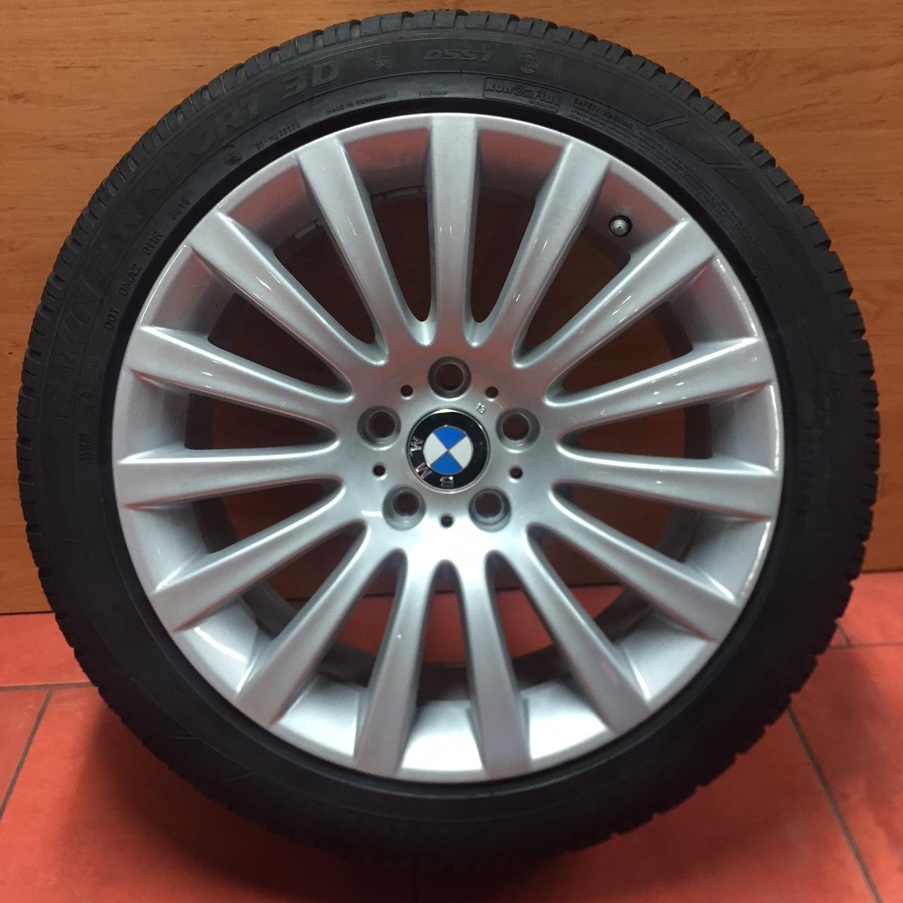 Zimní sada alu kola BMW 7 F01, F07 STYLING 235 8,5x19 5/120 ET25 včetně zimní pneumatiky 245/45 R19 102V DUNLOP