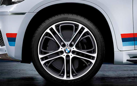Originální alu kola BMW STYLING 310M 10x21 ET40 a 11,5x21 ET37 pro BMW X5 a BMW X6 letní sada
