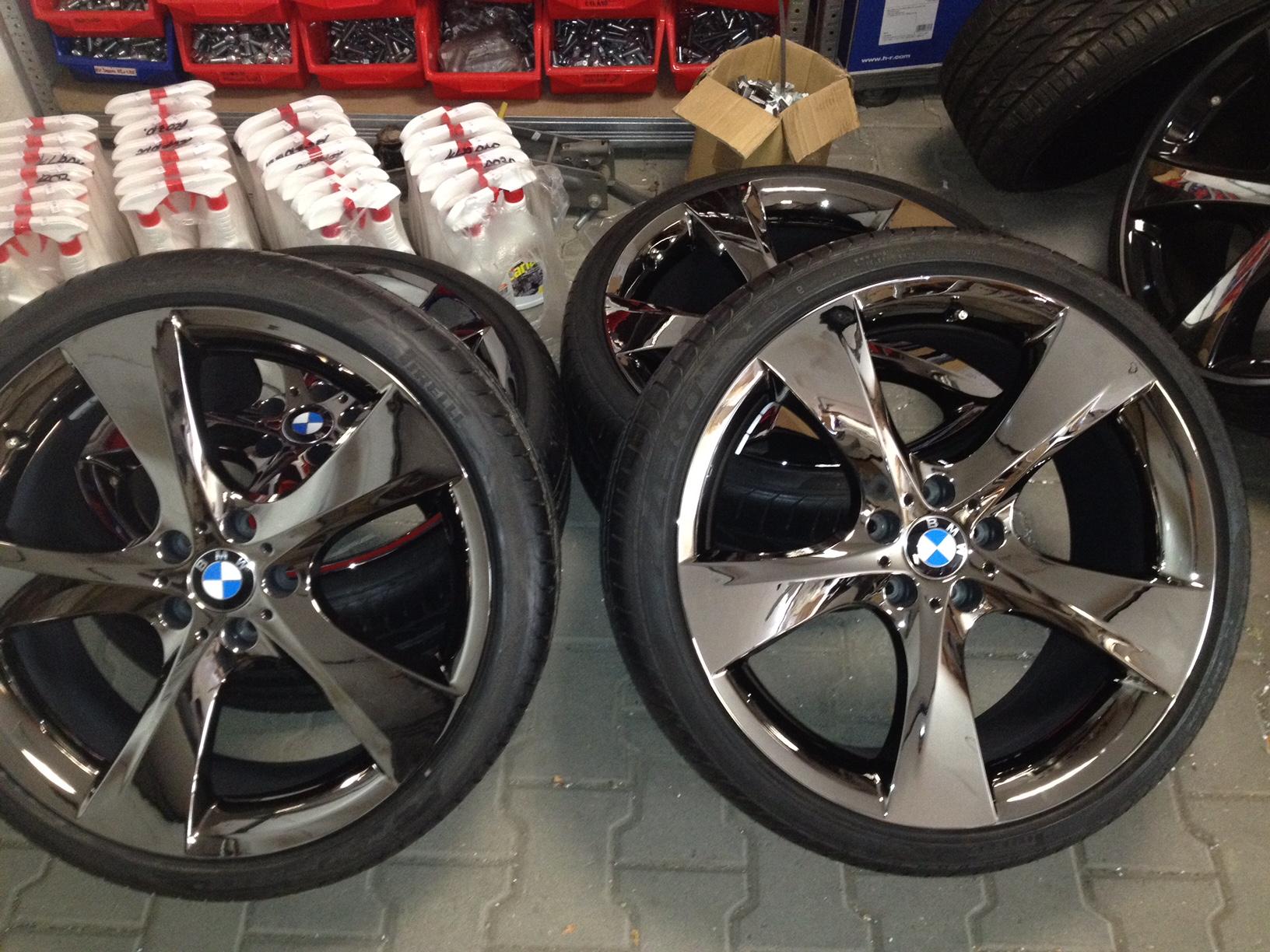 Originální alu kola BMW F01, GT 07 STYLING 311 8,5x21 ET25 a 10x21 ET41 5/120 pro BMW 7 F01 a GT F07 letní sada