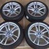 BMW M2 F87 zimní sada STYLING M640 8,5x18 5/120 ET27 a 9x18 ET29 včetně zimních pneumatik 235/40 R18 95V XL Michelin Pilot Alpin 4*
