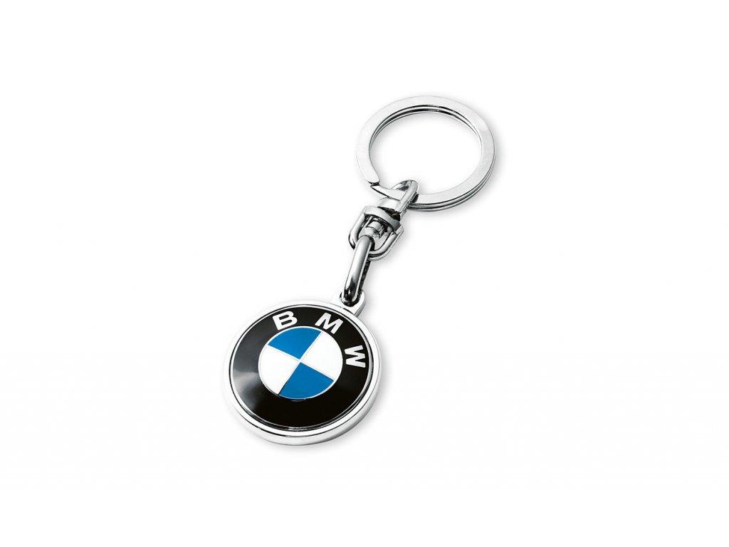 bc128936c BMW prívesok na kľúče s logom. - BMWeshop.sk