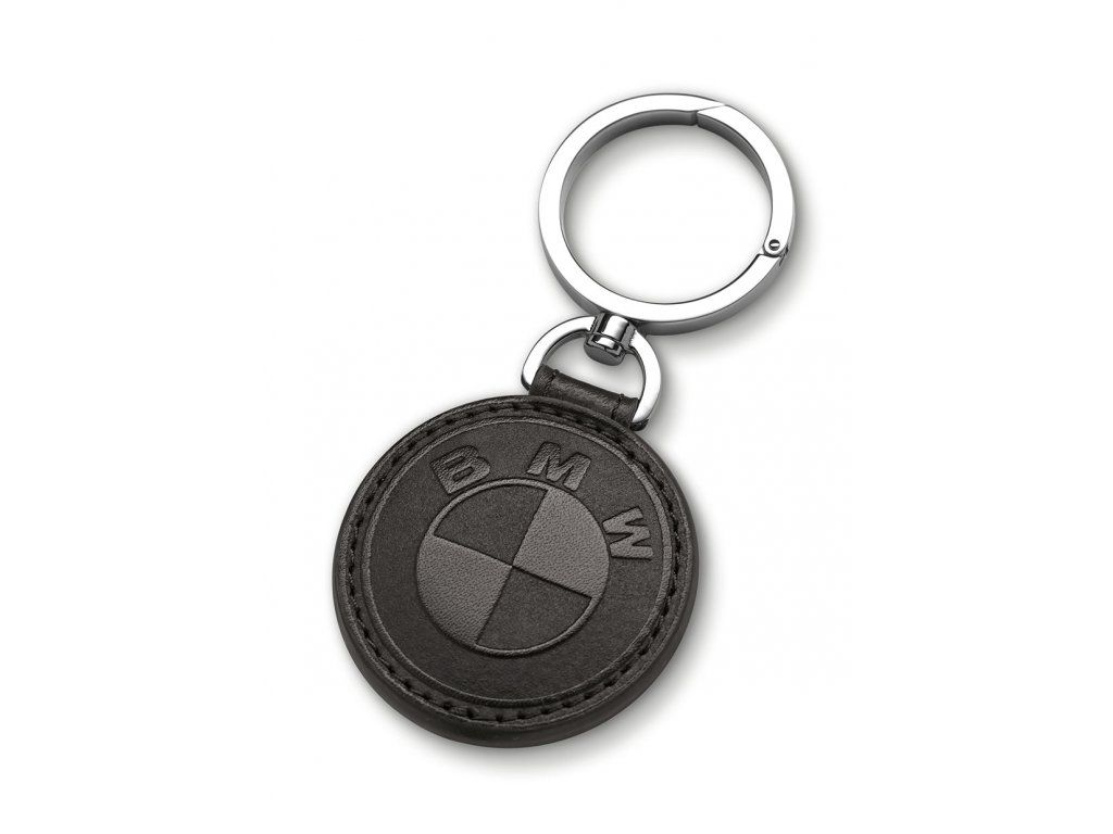 Prívesok na kľúče s logom BMW v jemnej koži. 8254df442c7