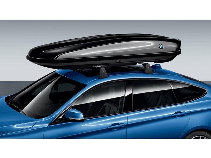 BMW strešný box.