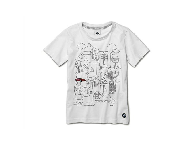 BMW Interaktívne tričko detské.