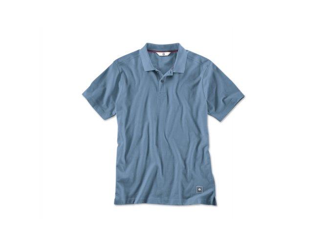 BMW polo tričko modré, pánske.