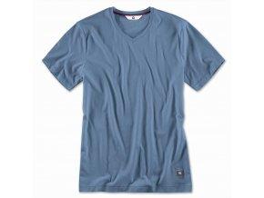 pánske tričko modré XL