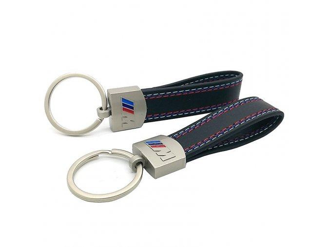 font b Leather b font Belt Chrome Keyring font b Keychain b font Key Chain