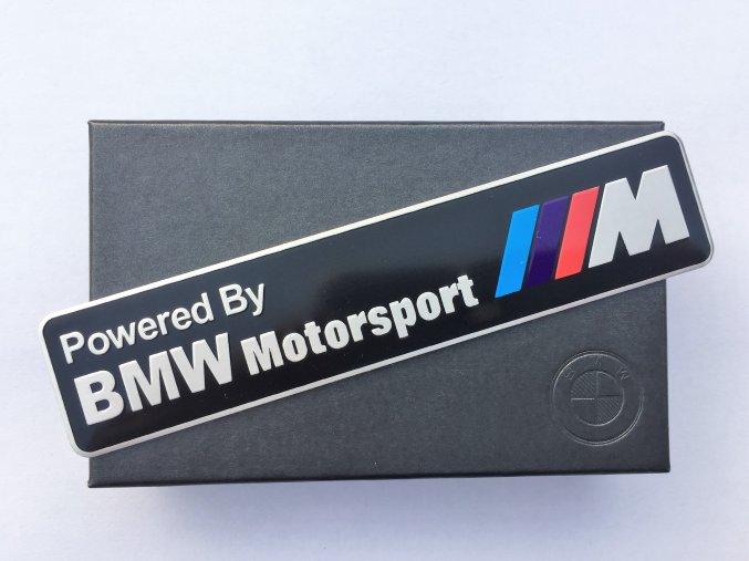 PLAKETA - BMW POWERED BY MOTORSPORT