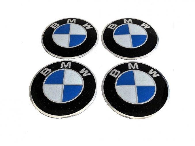 BMW MODRO-BÍLÁ 65MM - HLINÍK