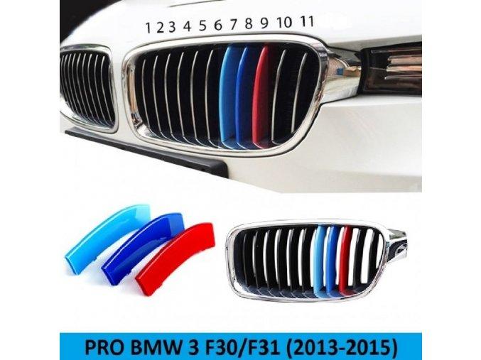 TRIKOLORA BMW F30/F31 (2013-2017) 11 LAMEL