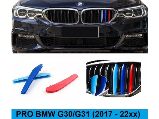TRIKOLORA BMW G30/G31 (2017-202x) 9 LAMEL