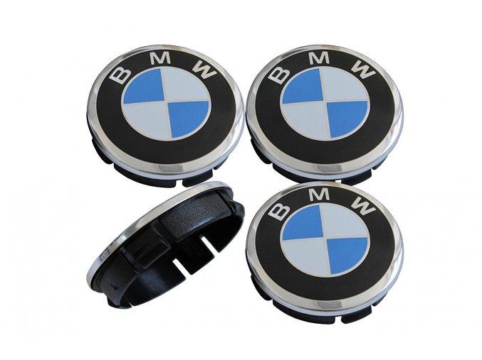 STŘEDOVÉ KRYTKY BMW MODRO-BÍLÁ