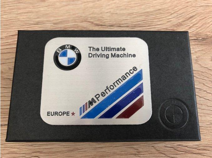 PLAKETA - BMW ULTIMATE M PERFORMANCE