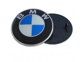 ZNAK BMW 82MM MODRÁ BÍLÁ