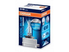 OSRAM Xenonová výbojka D1S 5000K