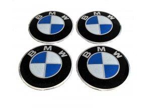 BMW MODRO-BÍLÁ 56MM - HLINÍK